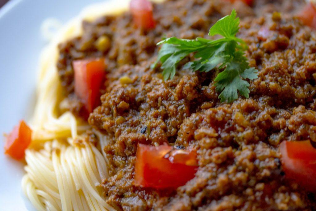 Tahini Spaghetti Sauce