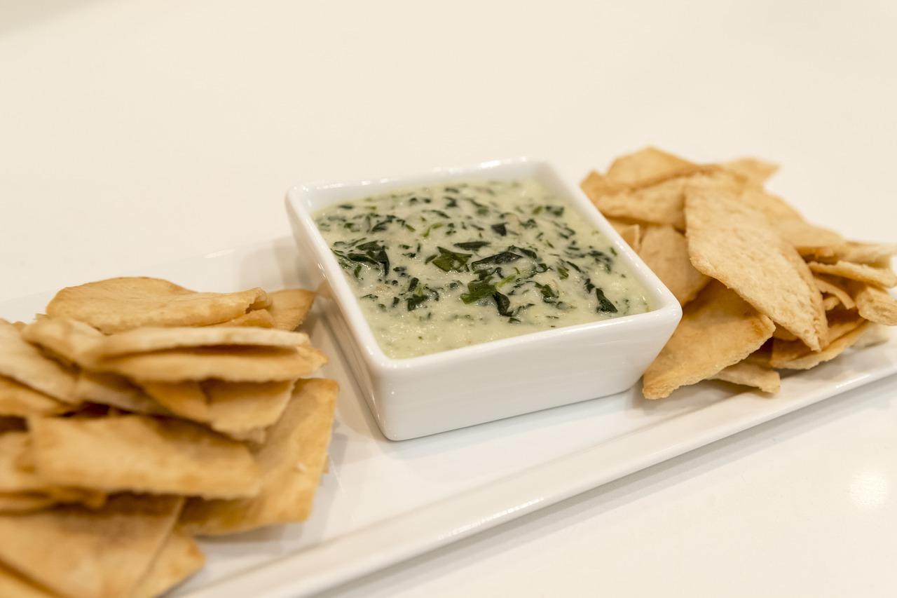 Spinach Artichoke Tahini Dip
